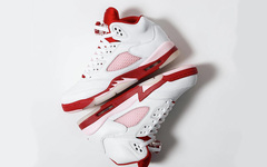 """色调有点点浪漫?酷似""""情人节""""的 Air Jordan 5 新品现已正式发售!"""