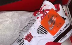 """是元年内味儿!Air Jordan 4 """"Fire Red"""" 实物细节曝光!"""