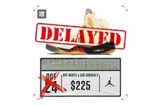 """延期发售了! Off-White x Air Jordan 5""""Sail"""" 还得再等等..."""
