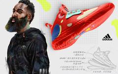 哈登最新战靴 Harden Vol.5 下月登场!还有两款重磅的 adidas 新品同步亮相!