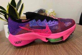 经典粉紫渐变色系,OW x Nike Air Zoom Tempo NEXT% 两款新配色亮相