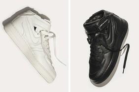 设计感十足!COMME des GARÇONS x Nike 全新联乘 Air Force 1 Mid 系列,你心动了吗?