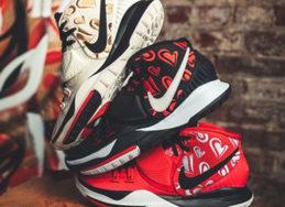"""爱心+玫瑰刺绣吸睛度爆棚!Sneaker Room x Nike Kyrie 6 """"MOM"""" 系列曝光!"""