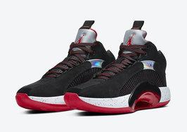 经典黑红加持!全新 Air Jordan 35 即将发布!