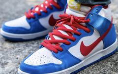 SNKRS 上架!哆啦A梦 Nike SB Dunk Hi 下周再次发售!