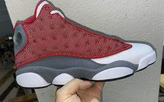 """全新""""海军红""""配色?Air Jordan 13 """"Red Flint""""实物亮相"""