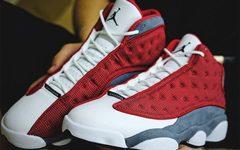 """外观表现不俗!Air Jordan 13 """"Red Flint"""" 最新美照释出!"""