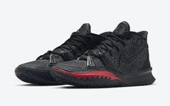 又一款黑红主题配色!全新 Nike Kyrie 7 下月发售!