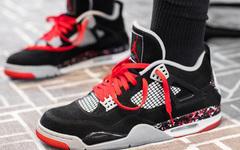 "DJ Khaled 晒 OVO x Air Jordan 4 ""Splatter"" !还说明年登场?"
