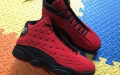 反转黑红配色!全新 Air Jordan 13 明年登场!