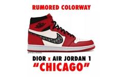 """超重磅!DIOR x Air Jordan 1 将迎来""""芝加哥""""配色?!"""