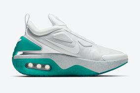 全新湖水绿配色亮相,自动系带Adapt Auto Max跑鞋将售