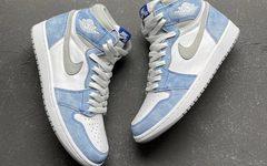 Air Jordan 1 水洗蓝美如画,确定将于4月发售