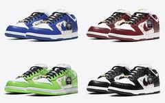 Supreme x Nike SB Dunk Low系列完整官图释出!今年发售!