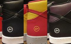 配色正式亮相感觉如何?Fragment x Nike Dunk套装还玩印标