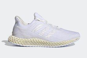"""科技感十足!Parley x adidas Ultra 4D """"White"""" 即将发售!"""