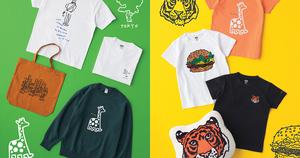 汉堡包、长颈鹿、老虎等图案注入!优衣库发布已故艺术家 Jason Polan 合作系列!