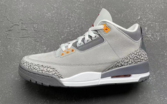 "Air Jordan 3 ""Cool Grey"" 月底亮相!你打算入手吗?"