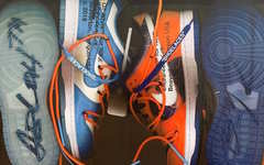 OW x Futura x Nike Dunk Low 或将亮相?另外还有白黄版 OW x AJ 1 、OW x AF 1....