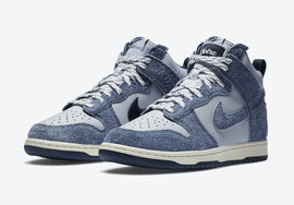 "官图来了!Notre x Nike Dunk High""Midnight Navy"" 配色你会入手吗?"