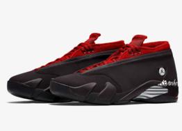 """除了兵马俑联名还有新配色!Air Jordan 14 Low """"Gym Red"""" 发售信息释出!"""