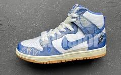 实物美图再品一品,Carpet Company x Nike SB Dunk High细节如何