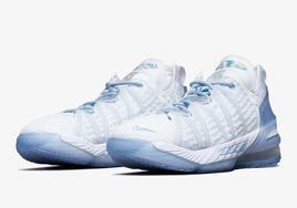 高颜值百搭上脚神器!全新 Nike LeBron 18 即将登场!