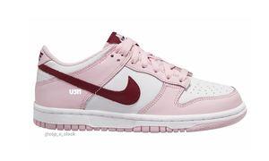 "神似天价 StrangeLove 情人节联名!全新 Nike Dunk Low ""Strawberry Pink"" 首度亮相!"