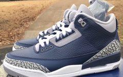 鞋盒首次曝光!午夜蓝 Air Jordan 3 今年 3 月登场!