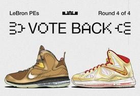 16 双珍罕勒布朗正代 PE 投票进入最后一轮!LeBron 9  和 LeBron 10 你选哪双?