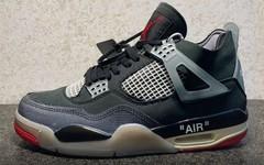 "Off-White x Air Jordan 4 ""Bred""再曝实物细节!要市售了?"