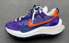 Sacai x Nike VaporWaffle 紫橙配色最新实物曝光!春季登场!