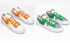 目前最完整实物照释出!Sacai x Nike Blazer Low 你种草了吗?