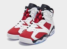"Nike Air 后跟!Air Jordan 6 OG ""Carmine"" 胭脂红复刻,期待不?"