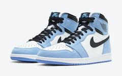 """官图及发售日期曝光!Air Jordan 1 """"University Blue"""" 配色即将市售!"""