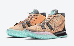 加入可回收材料,Nike Kyrie 7全明星配色3月发售