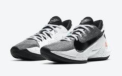 鞋面材质有点特殊!字母哥战靴 Nike Zoom Freak 2 迎来新配色!