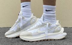 米白生胶大底,Sacai x Nike VaporWaffle新配色即将发售