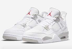 """Air Jordan 4""""White Oreo""""首次曝光!有点""""白水泥""""的气质?"""