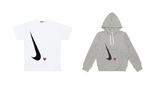 COMME des GARÇONS PLAY x Nike 联名服饰登场!