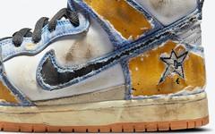 """做旧效果绝了!""""地毯公司"""" Carpet Company x Nike Dunk SB High 联名即将登场!"""