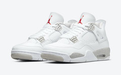 """官图释出!酷似白水泥的 Air Jordan 4""""White Oreo"""" 即将发布!"""