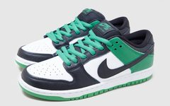 经典黑绿OG感十足,Nike SB Dunk Low新配色将售