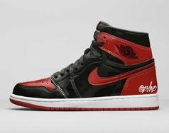 2021重磅鞋款揭晓?AJ1黑红也整漆皮版本
