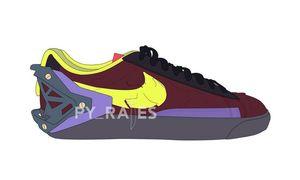 Blazer Low 要崛起了?ACRONYM x Nike Blazer Low 联名首度曝光!