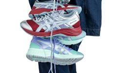 一改常态,亚瑟士全新鞋款潮流感十足