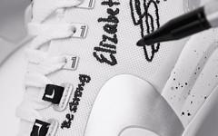 涂鸦刺绣+ DIY 设计!特步为林书豪首款签名鞋带来新配色!