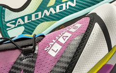 Salomon XT- 4 两款配色曝光!绚丽渐变设计!