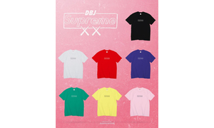 多色可??!Supreme x KAWS Chalk Box Logo Tee 即将来袭!
