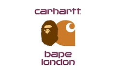 Carhartt WIP x BAPE 伦敦门店限定系列发布!
